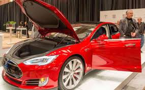 tesla electric car tesla electric car gets best ever consumer rating eco news