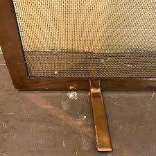 modern brass fireplace screen shophousingworks