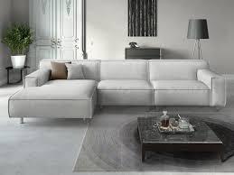 sofa l form roletto polsterecke stoffsofa in l form sofanella living