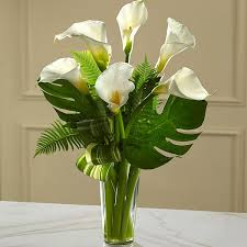calla lilies bouquet the ftd always adored calla bouquet in jefferson city mo