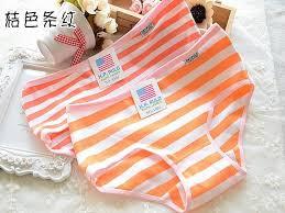 Children underwear cotton girl underwear kids cute striped briefs teen  underwear lovely girls panties children clothing