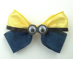 minion ribbon 69 best lazos minion images on hair bows boutique