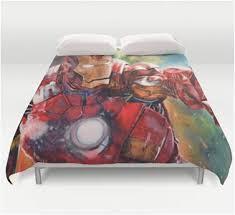 Avengers Duvet Cover Single Queen Iron Man Duvet Cover Marvel Superhero Bedding U2013 Superhero Sheets