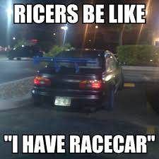 ricer car exhaust just to laugh post a ricer picture general greenheart games forum