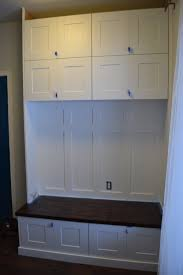 Premade Laundry Room Cabinets by Mudroom Lockers From Prefab Cabinets Mudroom Pinterest