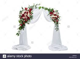 flower arch beautiful roses flower arch wedding decoration with and white