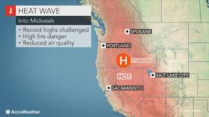Washington State Wildfire Air Quality by Wildfires Poor Air Quality To Continue As Dangerous Heat Bakes