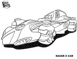speed racer coloring free download