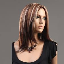 hairstyle with chunky highlights blonde highlights trends for dark