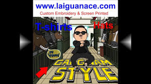 Custom Embroidery Shirts Gangnam Style Custom Embroidery Screen Printing T Shirts Alamas La