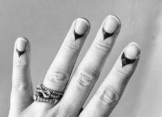cuticle tattoos are the next era of nail art tattoo makeup and