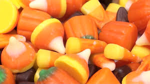 pumpkin candy corn candy corn and pumpkin candy loop v3 hd stock footage