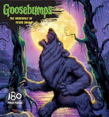 halloween puzzles the werewolf of fever swamp goosebumps puzzle jigsaw puzzle