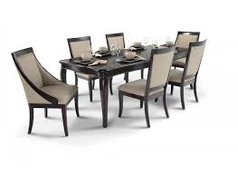 gatsby 7 piece dining set with side chairs u0026 swoop chairs dining