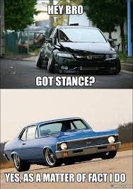 Muscle Car Memes - muscle car memes hey bro got stance muscle car fan