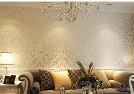 european vintage luxury non woven damask wallpapers embossing