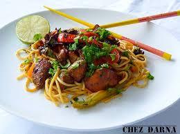 cuisine asiatique facile spaghettis à l asiatique darna