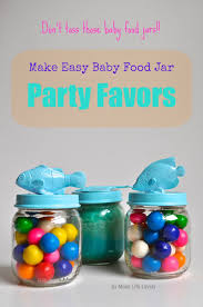 jar party favors upcycled baby food jars baby food jar party favors make lovely