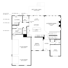 Old Pulte Floor Plans by Pulte Townhome Floor Plans