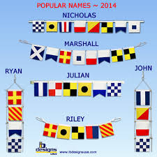 nautical flag popular baby names 2014 signal flags u2013 ib designs usa blog