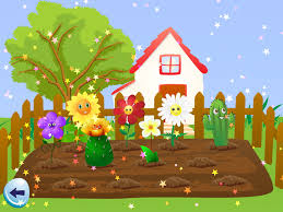 Flower Garden App by Math Learning For Children While Watering The Garden Ipad App