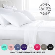 1000 Egyptian Cotton Sheets 1000tc Egyptian Cotton 4 Piece Sheet Set U2013 Wool Quilt Quilt Cover
