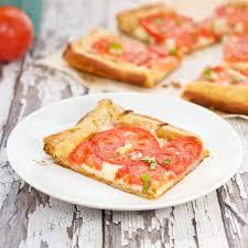 sweet pea u0027s kitchen tomato and mozzarella tart