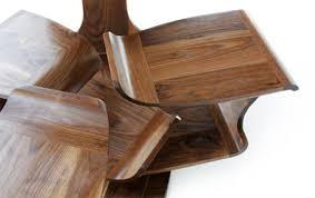Modern Wood Desk Modern Desks Make Room Wonderful Rotating Workspace