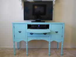 Desk With Tv Stand by Furniture Blue Dresser Drawer Pulls With Tv Stands And Concrete