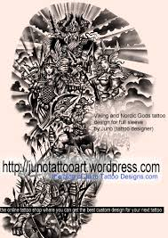 norse mythology tattoos custom tattoos made to order by juno