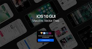 the ultimate ios 10 gui kit for sketch photoshop and adobe xd