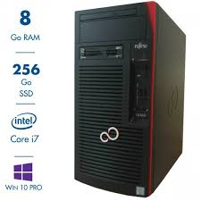pc bureau reconditionné fujitsu celsius w570n intel i7 6700 3 40ghz 8 go 256 go ssd