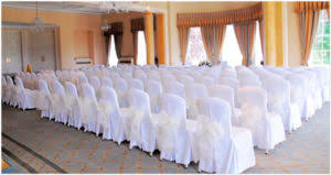 white wedding chair covers chair covers sashes bencel hire