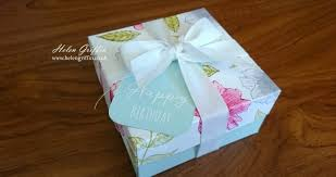 floral gift box tutorial pretty floral gift box with watercolour flowers helen