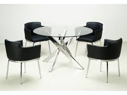 Glass Round Dining Room Table Kitchen Chairs Dining Room Furniture Modern Dining Sets Table