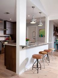 narrow kitchen ideas kitchen appealing cool modern kitchen breakfast bar astonishing