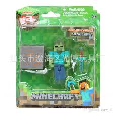 2017 minecraft toys blocks dolls doll ornaments steve
