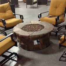 Ember Table Have To Have It Red Ember 45 In Clarksville Propane Fire Pit