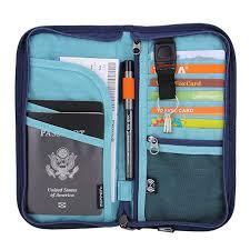 California Travel Wallets images Zoppen rfid travel passport wallet documents jpg