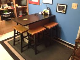kitchen breakfast barhome office desk ikea hackers clever ideas