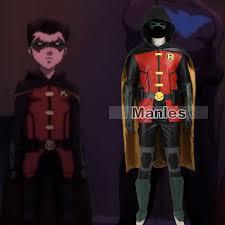 Teen Titans Halloween Costumes Aliexpress Buy Batman Robin Cosplay Costume Justice League