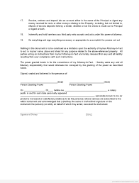 Sample Of Power Of Attorney Document by Sample Printable Power Of Attorney 2 Appointment Of Property