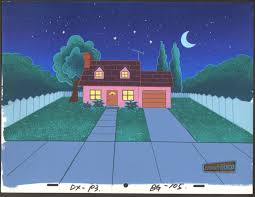 dexters lab production background his house cartoon network coa