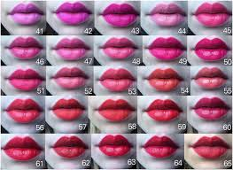 Shades Of Red Color Chart by This Epic Chart Of 97 Lipsticks Will Make Finding Your New Shade