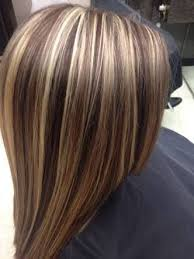 hair foils styles pictures short brown hair with blonde foils google search hair