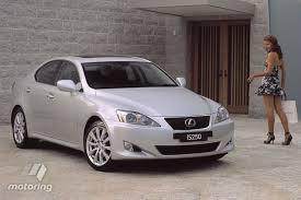 fuel consumption lexus is250 buying used lexus is250 2005 12 motoring com au