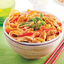 recette cuisine bol de nouilles chiang mai au poulet recettes cuisine et
