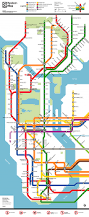 Nyc City Map Know The Lines And Stops New York City Subway Map 2 50 Per Ride