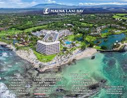 Map Of Hawaii Big Island Hawaii Big Island Resorts Mauna Lani Bay Hotel Directions
