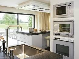 cuisine encastr meubles cuisine dco de cuisine et blanc croquer